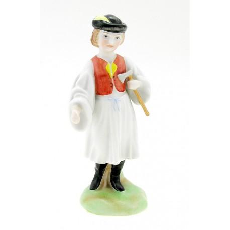 Herend Boy Figurine with Axe