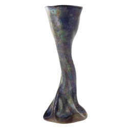 Hungarian Art Pottery Vase By Ferenc Halmos