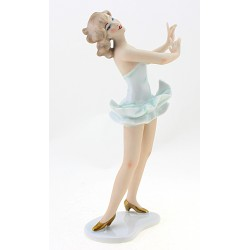 Wallendorf Dancing Lady Figurine