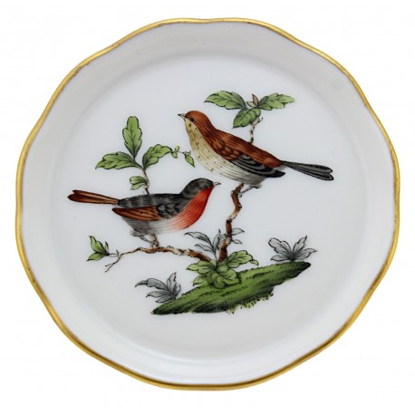 Herend Rothschild Bird Decor Small Dish