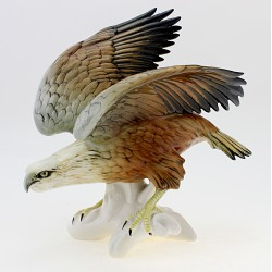 Vintage Karl ENS Eagle Figurine German Porcelain