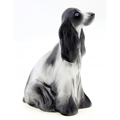 Hollohaza Spaniel Dog Figurine