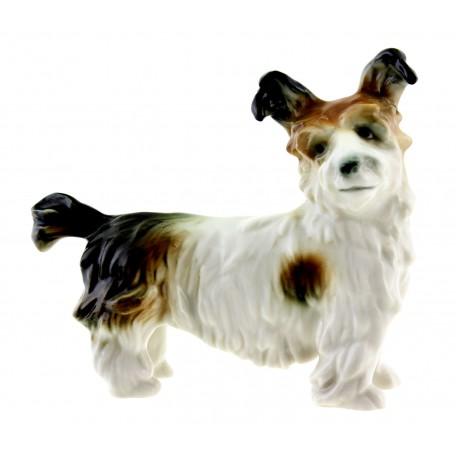 Vintage Karl ENS Dog Figurine German Porcelain