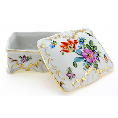 Vintage Herend Covered Dish 1950s