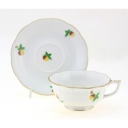 Herend Tea Cup and Saucer
