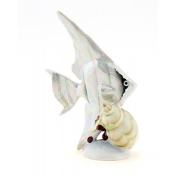 Vintage Hollohaza Fish Figurine