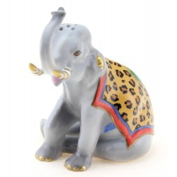 Lynn Chase Elephant Salt or Pepper Shaker Hollohaza Elephant Salt or Pepper Shaker